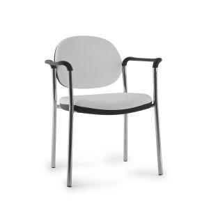 cadeira de escritório Click A1 Cromada