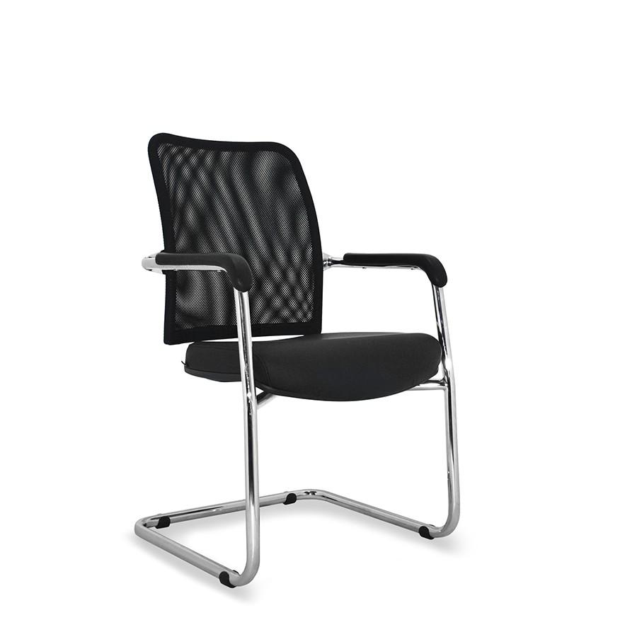 cadeira de escritório Director Fixa Cromada