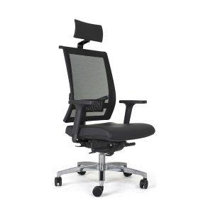 cadeira de escritório Versalhes Presidente Alumínio